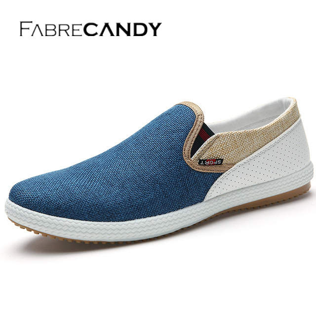 Mens Casual Flats Loafers Comfortable Lazy Shoes Slip On Men Shoes