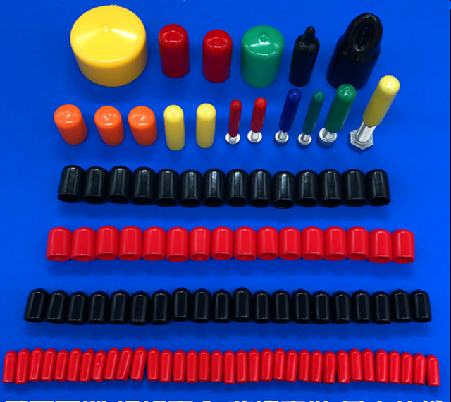 Free shipping 100 PCS End cap PVC Plastic Cable wire thread cover ...