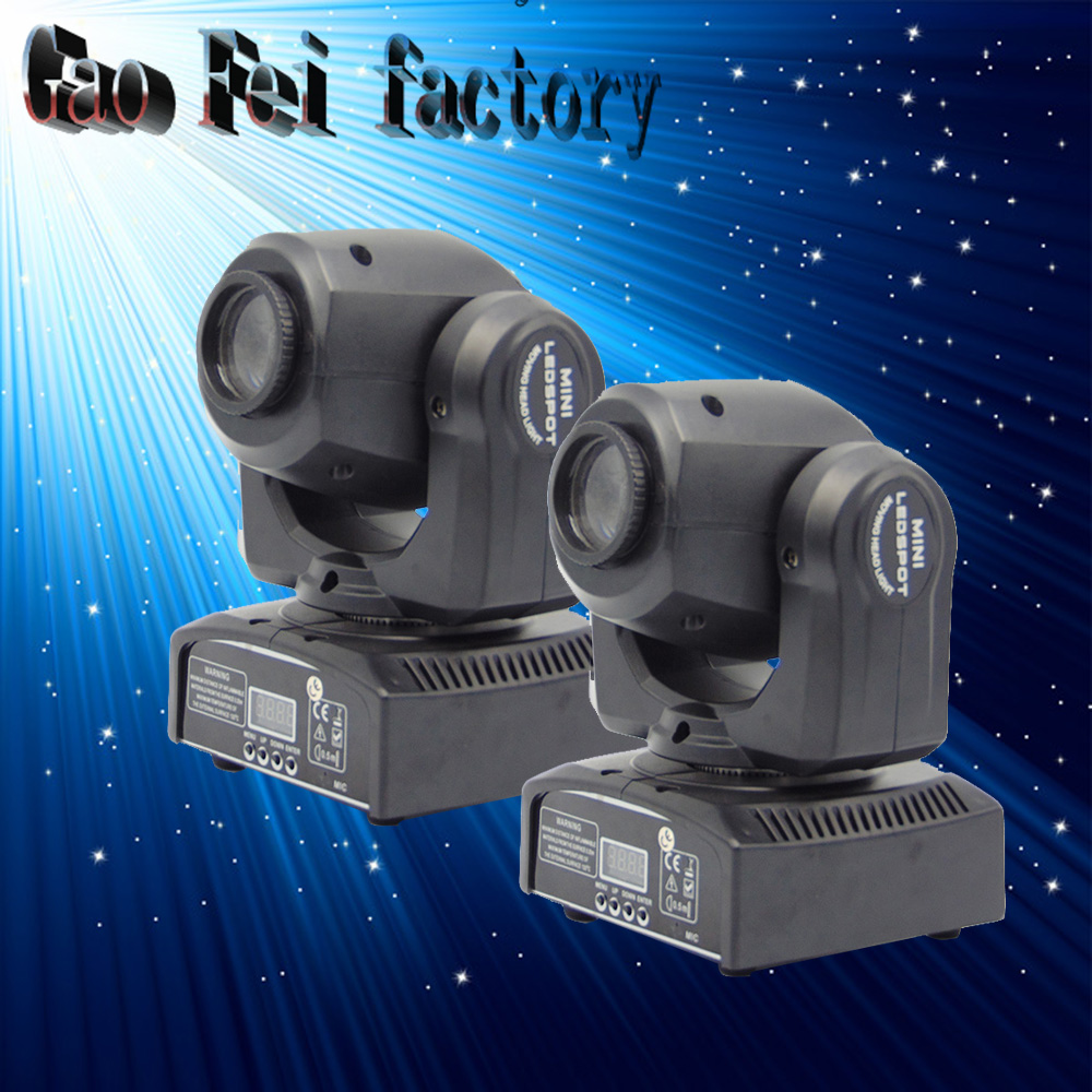 2 PZ/LOTTO Professionale Della Fase Night Club di Illuminazione 30 W LED Moving Head Spot Light2 PZ/LOTTO Professionale Della Fase Night Club di Illuminazione 30 W LED Moving Head Spot Light