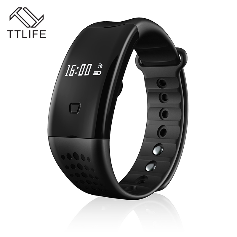 Hot TTLIFE Brand Passometer Sleep Monitor Wristband Smart Bracelet Activity Tracker Bluetooth SmartBand Pulseira inteligente