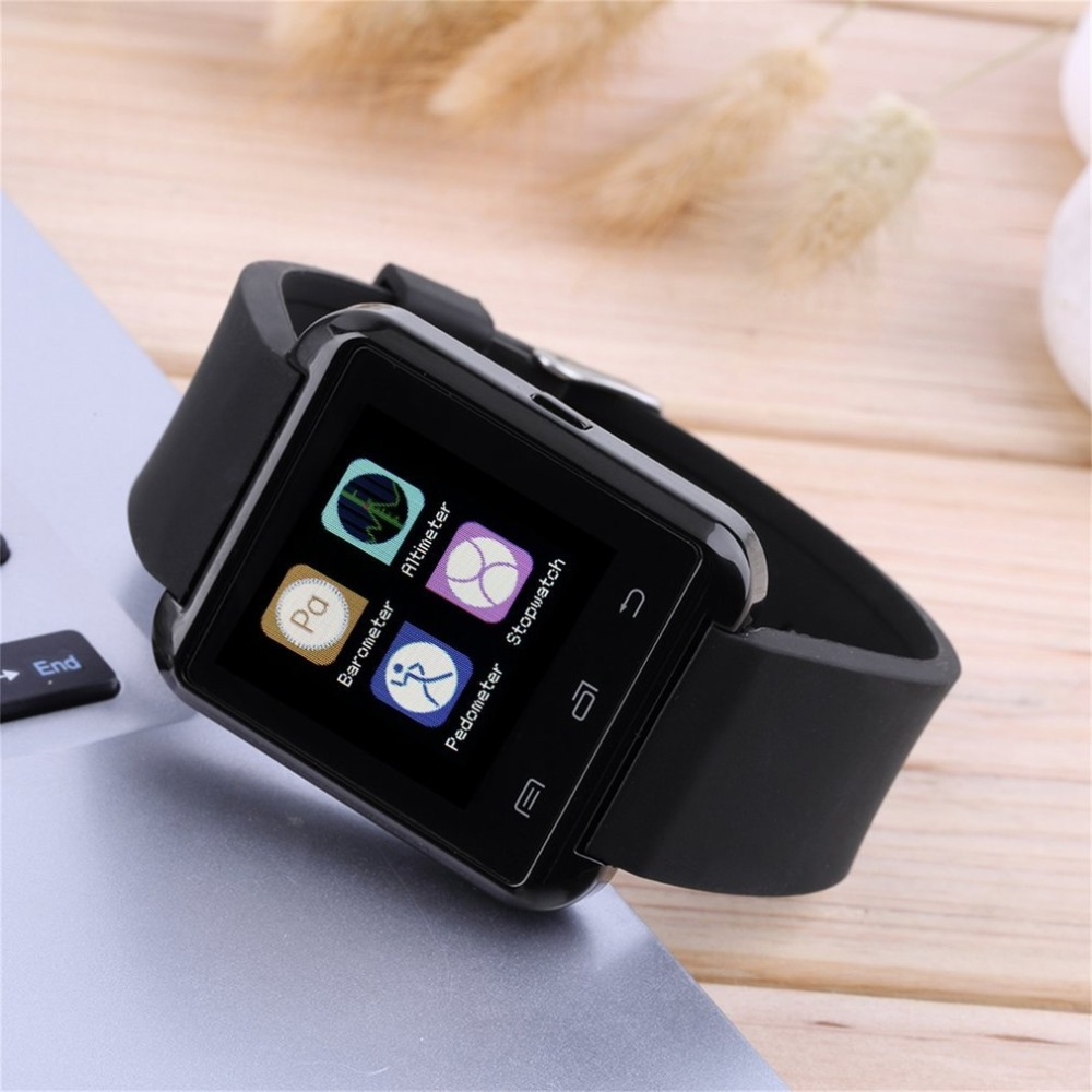 Bluetooth Smart Wrist Watch Smart Electronics Bluetooth V3.0 LCD Touch Screen EDR Smart Watch For Android For IOS Smart Phone