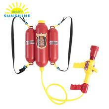 NEW Kids Outdoor Backpack Water Spraying Toy water Beach toys Blaster Extinguisher with Nozzle and Tank Set toys For Children