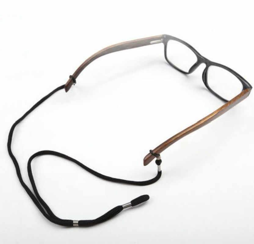 12 pçs/lote Colorido Cord Eyewear Nylon Reading Vidro Pescoço Corda Cinta Titular De Óculos Corda 12 NOVOS Colhedores