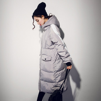 Plus Size 3XL Winter Jacket Women Hooded Thicken Bread Coats Wadded Cotton Jacket Female Maxi Coats Warm Parka Winter Coat C2734