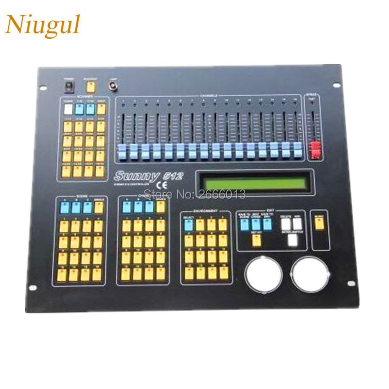 Niugul DMX controller LED stage lights DMX console sunny 512 dmx lighting control console DJ Equipment For LED moving head light niugul dmx stage light mini 10w led spot moving head light led patterns lamp dj disco lighting 10w led gobo lights chandelier