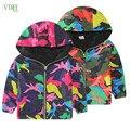 2016 autumn baby boys outwear clothing Camouflage girls boys jacket coat kids children hoodies jacket boys windbreaker 2-8 year