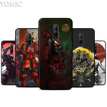Japanese Samurai Silicone Case for Oneplus 7 7Pro 5T 6 6T Black Soft Case for Oneplus 7 7 Pro TPU Phone Cover
