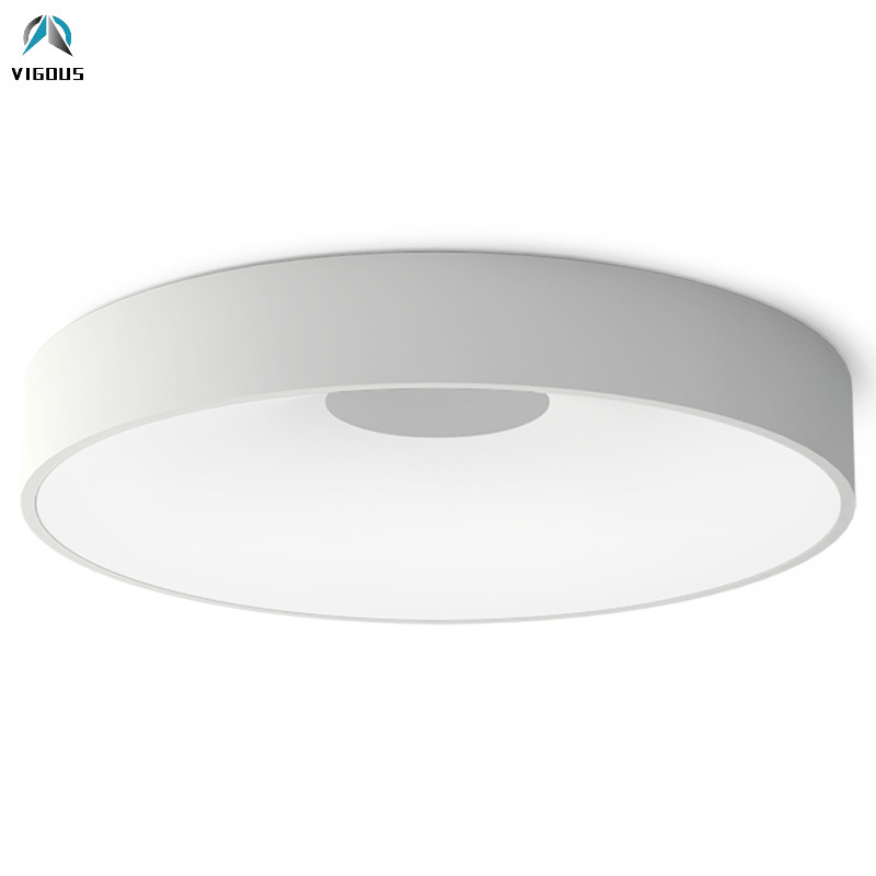 Modern Lustre Luminarias Led Dimmable Ceiling Lamp Minimalism Round Metal Ceiling Lamp for Bedroom Indoor Lighting Lamparas