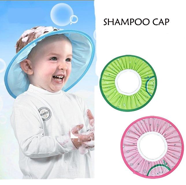1 pc new design baby shower cap child bathroom hat