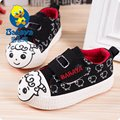 2015 casual Spring brand new quality cartoon prints casual soft canvas baby girl boy first walkers toddle infant sneakers shoes