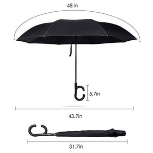 Image 5 - Upside Down UV Protection Unique Windproof Brella That Open Better Than Most Umbrellas, Reversible Folding Double Layer