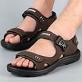 Sandals Roman beach sandals men leather sandals casual shoes men Beach summer outdoor shoes in Vietnam