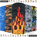 Free Shipping 10pcs Fashion Breathable Microfiber UV Protection Seamless Tubular Skull Headwear Outdoor Multifunctional Bandana