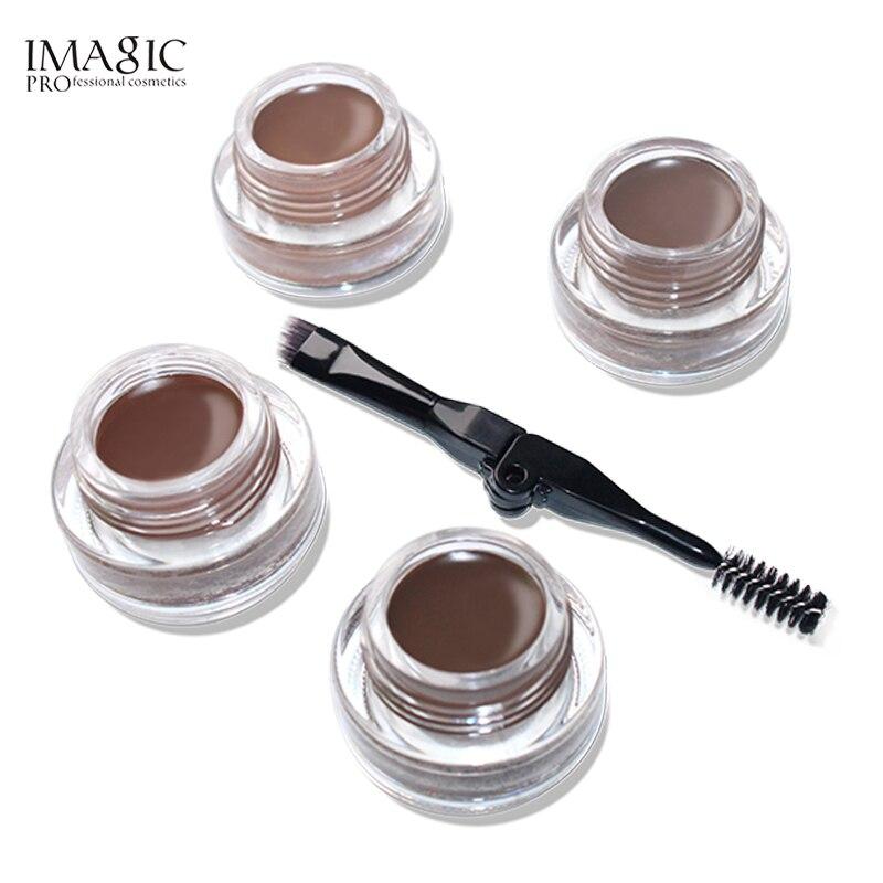 IMAGIC Professional Natural Eyebrow Gel 6Colors Waterproof Brow Tint Cosmetic Longlasting Eyebrow Pomade Gel Maquiagem Makeup