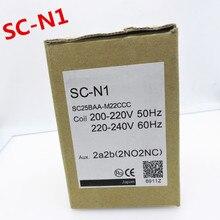 100% оригинал новый 2 года гарантии SC-N1 контактор переменного тока AC24-380V лифта