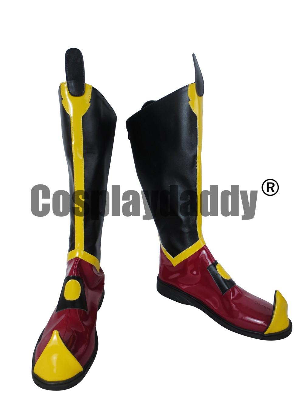 Avatar Poslední Airbender Azula Halloween dlouhé boty Cosplay boty C006