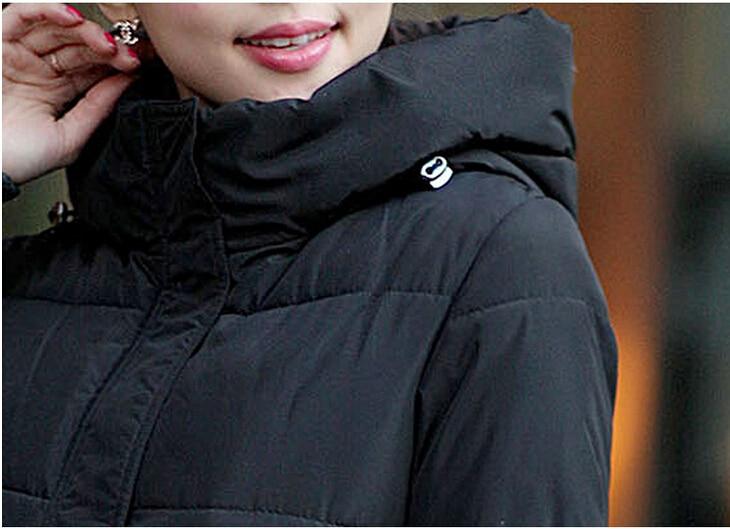 Couleur Vestes De D'hiver amp; Conception vert Manteaux 2018new Ouatée Taille Veste rembourré rouge Coton Bonbons Mode Noir Pardessus blanc Femmes La Épaississement Plus Long YCTnnAxqwa
