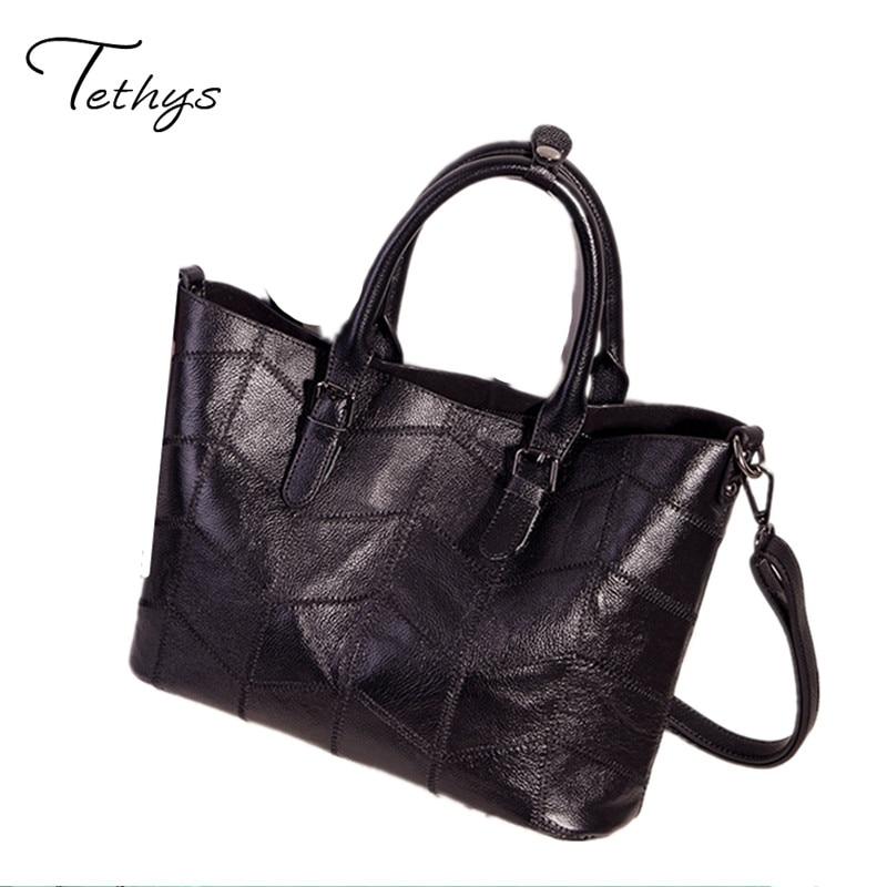 2017 New Fashion Women Messenger Bags large capacity Cowhide Leather bag female Shoulder Bags Handbags ladies tote sac a main