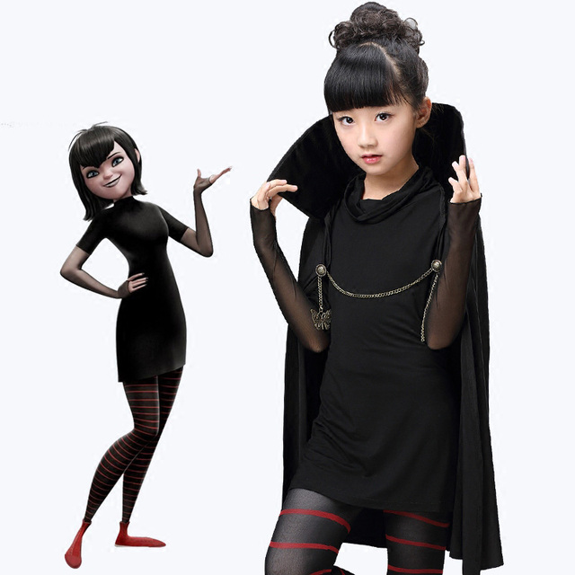 2016 New Children's Halloween Costume Vampire Princess Mavis ...