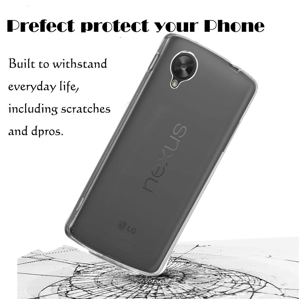 LG üçün Google Crystal Case - Cib telefonu aksesuarları və hissələri - Fotoqrafiya 2