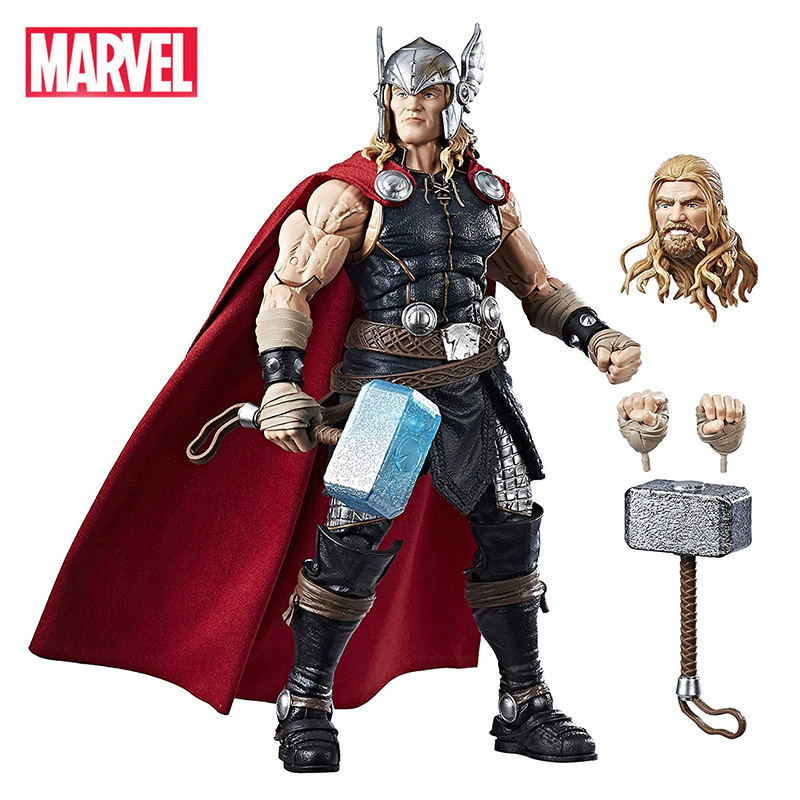 12 pouces/30 cm Avengers 4 Endgame Marvel légendes série Thor marteau Mjolnir figurines à collectionner jouet pour cadeau de fête des enfants