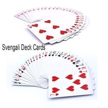 Стриптизерша Svengali маркированные колода покер карты Волшебные трюки профессиональная уличная Магия Magie легко делать