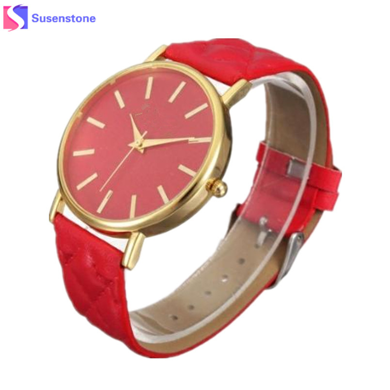 2017 Women Watches Casual Leather Band Quartz Analog Wrist Watch Ladies Dress Watches relogio feminino Wavors montre femme wavors luxury watches women men leather band rome number auto time analog wrist quartz dress watch