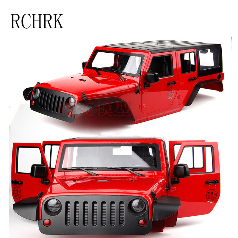 New Five Door Wrangler SCX10 Simulation Climbing Car JEEP
