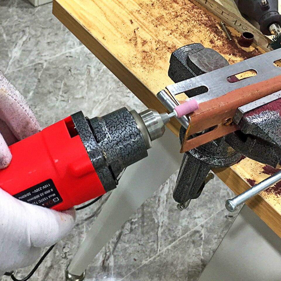 GOXAWEE 240W Elektrische Grinder Graveur Dreh Werkzeuge Mini Bohrer Schleifen Maschine Für Dremel Zubehör