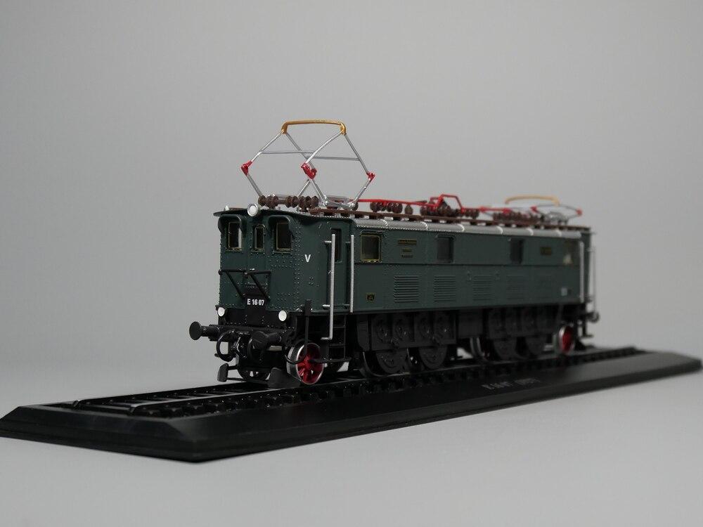 Ho scale model Atlas 1:87 Train E16 07 1927 Diecast model Train