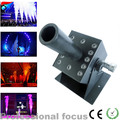 Free shipping LED CO2 Jet Machine 12*3W RGB Color Multi angle Stage DMX 7CH CO2 Connector