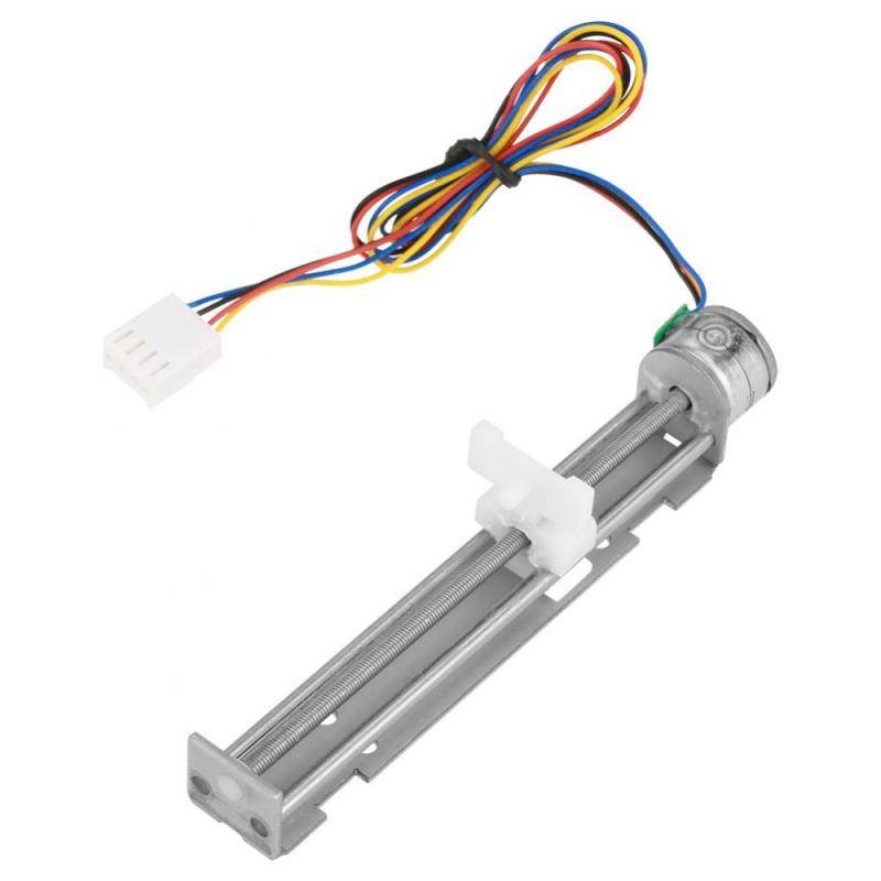 _ Шаговый двигатель постоянного тока 12 В с линейным винтовым накидным слайдером для гравировального Станка «сделай сам» 25 мм/секунда