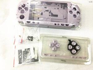 Image 2 - Pembe ve Mor Renk PSP Kılıf 2000 Tam Kabuk Konut PSP 2000 Için Kılıf