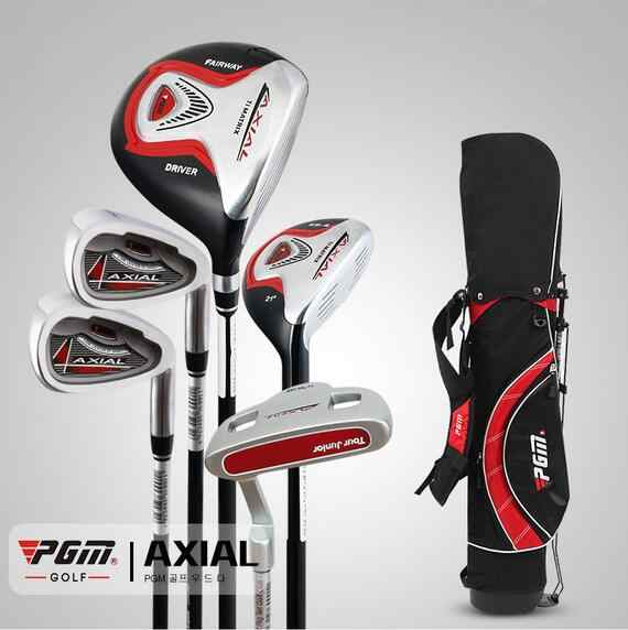 2017 JRTG003 boy manufacturers wholesale PGM precision weapons golf clubs children's pole boys boys sets of 3-12 years old