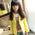 Korean fashion children's Suits autumn Lace Sleeve Blazers