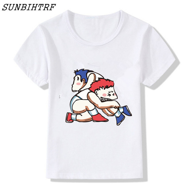 c061ec2fb 2018 New Arrivals Wrestling Boy Comedy T-Shirt Summer Funny Cool T Shirt  Children Casual Hipster Kids Baby Tops Tee Camisetas