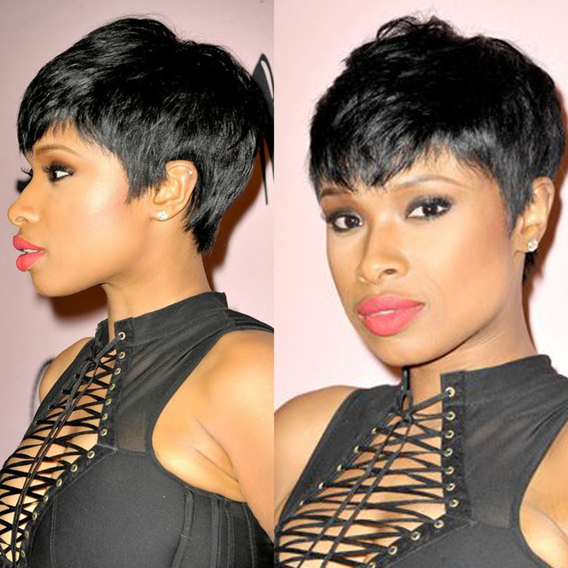 Fashion Style Short Hair 28pcs Bump Virgin Human Straight