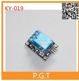 1PCS free shipping KY-019 1 Channel 5V Relay Module for arduino 1-Channel realy For PIC AVR DSP ARM for Arduino