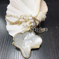 Europe and the United States foreign trade jewelry texture fashion style long necklace pearl joker accessories