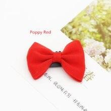 Envío Gratis 300 piezas Polpy rojo Wisp-pasadores de Mini tejer grogrén (ligamento tafetán Clip de lazo