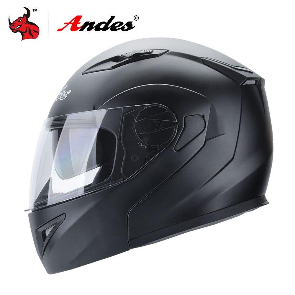 цена на Andes Motorcycle Helmet Full Face Moto Helmets Motorbike Scooter Unisex Biker Motocross Casco Moto Capacetes With Anti-fog Visor