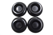 1 Set of 4pcs Black Upright Piano Caster Cups Foot Pad Shockproof Free Shipping Wholesales