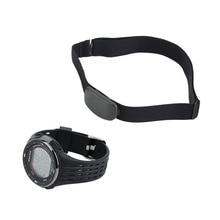 Наружные Спортивные часы Беспроводной нагрудный сердечного ритма Часы сердечного ритма Мониторы часы+ нагрудный пояс комплект