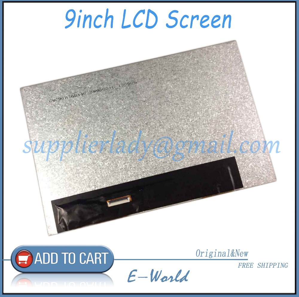 Original and New 9inch LCD screen ZM90001C ZM90001 for tablet pc free shipping original and new 7inch 41pin lcd screen sl007dh24b05 sl007dh24b sl007dh24 for tablet pc free shipping