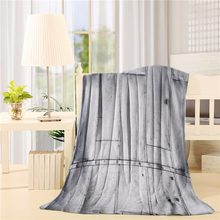 Steel Panels Industrial Wall Theme Aluminum Background Futuristic Engineering Print Flannel Throw Blanket Lightweight Cozy Bed(China)