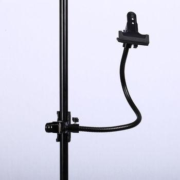 CY New Background Holder C Clamp Clip Camera Photo Studio Accessories Light Stand Flex Arm Reflector Photo Camara Fotografica