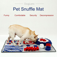 for Dog Snuffle Mat New Disign Washable Slow Feeding Machine Dogs Cat Food Mats Relieve Stress Pet Activity Training Blanket Big
