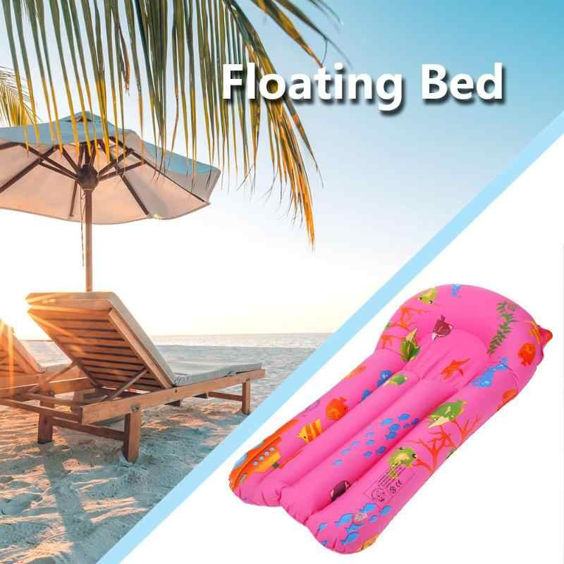 Inflatable Floating Row Renang Leisure Dewasa Apung Kursi Pantai Mandi Berenang Bantalan Udara Inflatable Tempat Tidur Gantung Laut Air Float