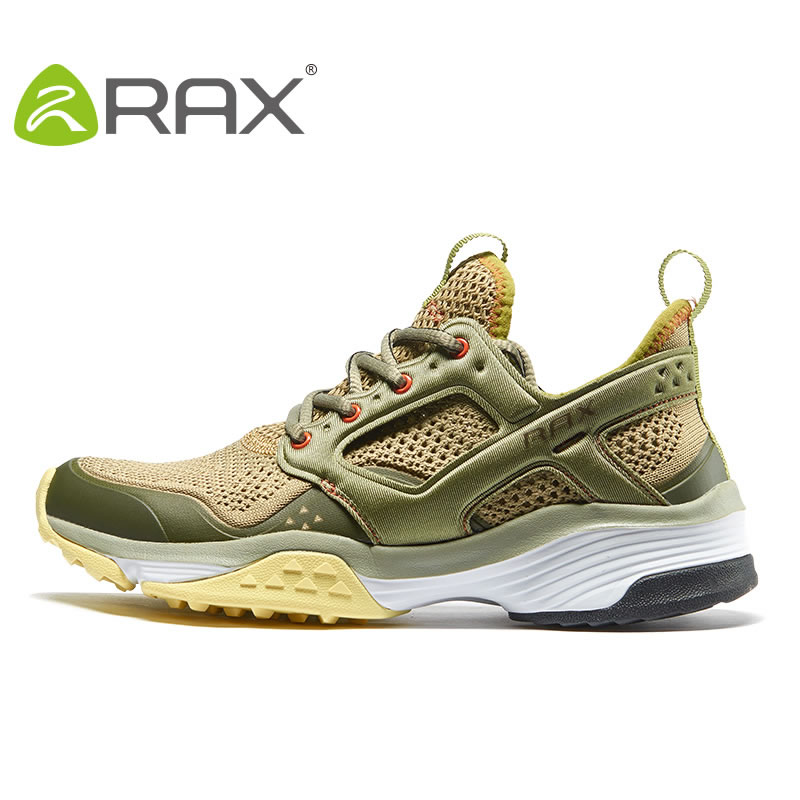 Rax Mens Women Breathable Trail Running Shoes Woman Light Outdoor Sports Sneakers Men Training Shoes Men Trainers Zapatos Hombre купить