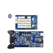 Últimas 2014 R2 R3 Nueva activación Gratuita VCI con bluetooth BT Escáner TCS CDP Pro Plus LED 3 IN1 Cartón caja